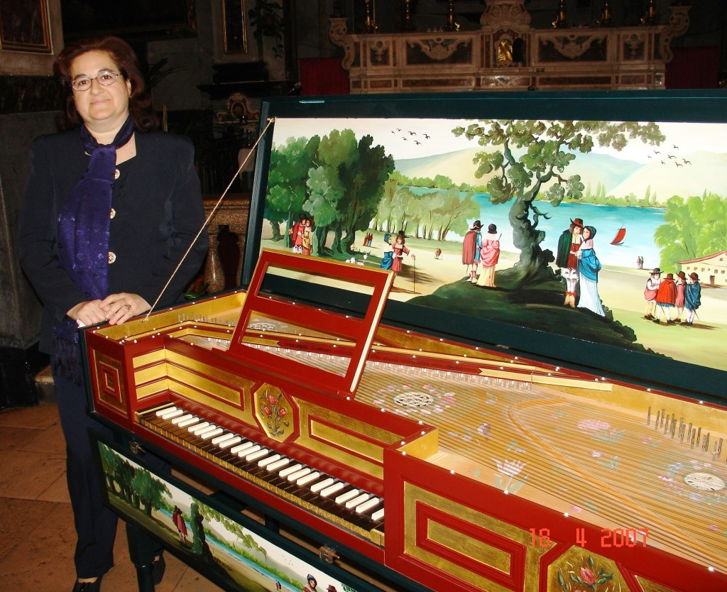 Margherita Porfido and her harpsichord - Ph. G. Cavalieri